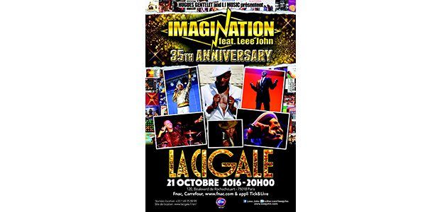 La Cigale - Paris - IMAGINATION FEAT LEEE JOHN