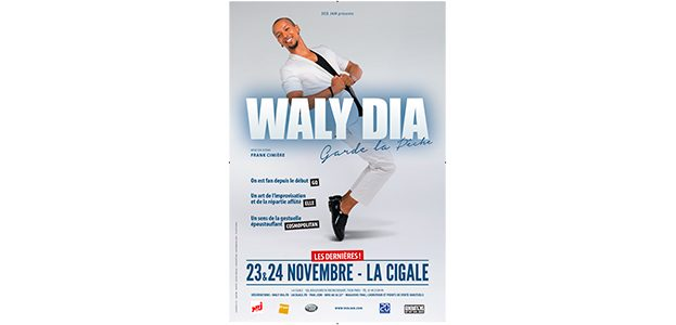 La Cigale - Paris - WALY DIA