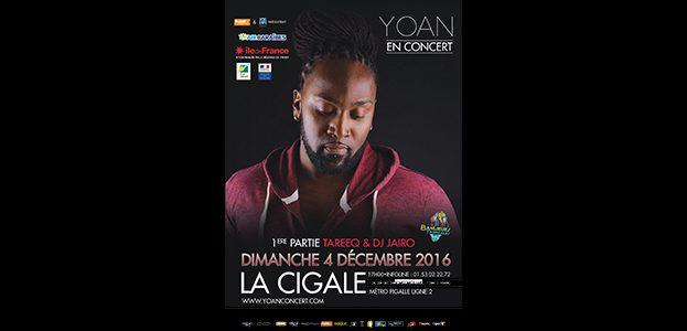 La Cigale - Paris - YOAN