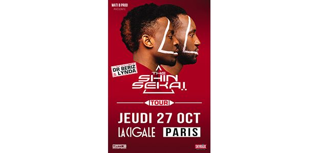 La Cigale - Paris - THE SHIN SEKAI TOUR