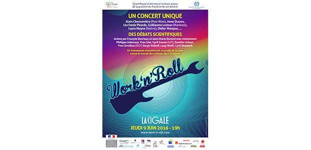 La Cigale - Paris - WORK'N'ROLL