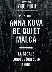 La Cigale - Paris - CONVERSE AVANT-POSTE