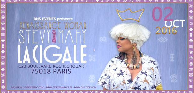 La Cigale - Paris - STEVY MAHY