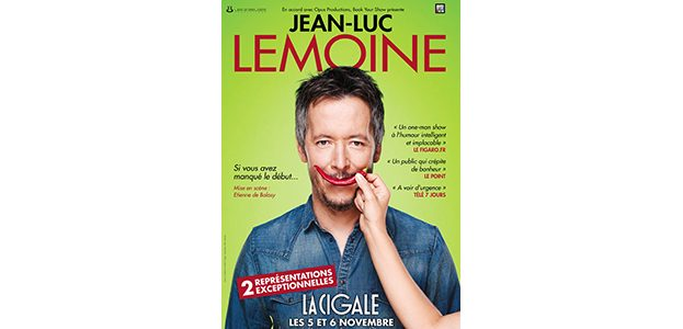La Cigale - Paris - JEAN-LUC LEMOINE