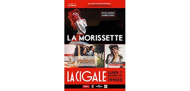 La Cigale - Paris - GENEVIEVE MORISSETTE