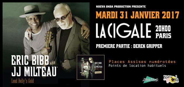 La Cigale - Paris - ERIC BIBB & JJ MILTEAU