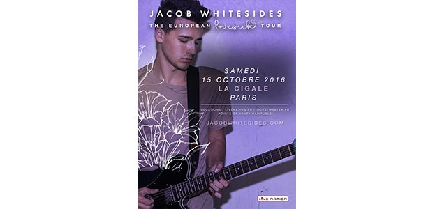 La Cigale - Paris - JACOB WHITESIDES