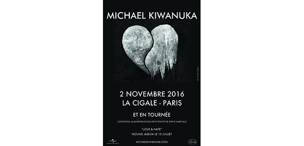 La Cigale - Paris - MICHAEL KIWANUKA
