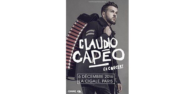 La Cigale - Paris - CLAUDIO CAPÉO