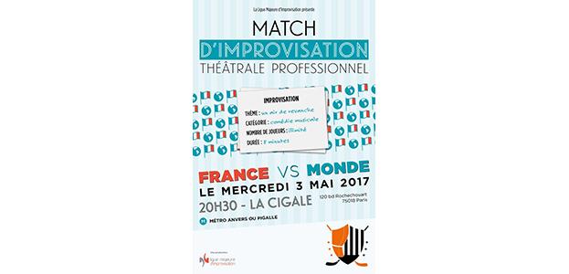 MATCH D'IMPRO PROFESSIONNEL