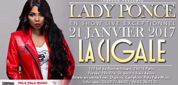 La Cigale - Paris - LADY PONCE