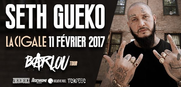 La Cigale - Paris - SETH GUEKO