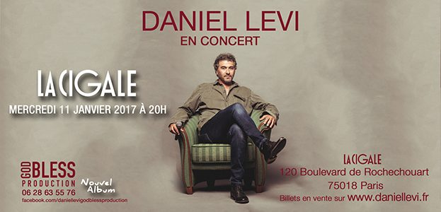 La Cigale - Paris - DANIEL LEVI