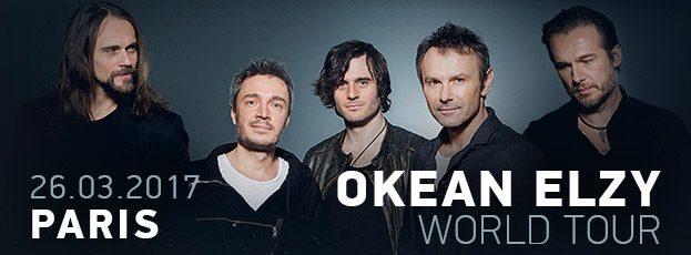 La Cigale - Paris - OKEAN ELZY WORLD TOUR