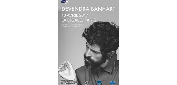 La Cigale - Paris - DEVENDRA BANHART