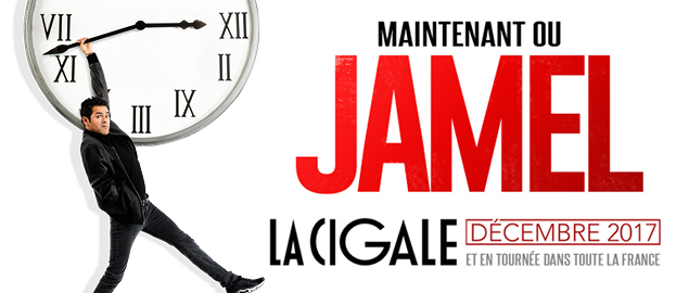 La Cigale - Paris - JAMEL DEBBOUZE