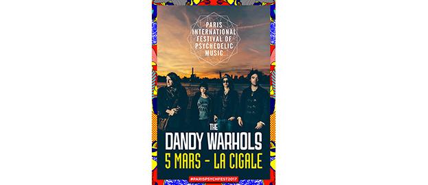 La Cigale - Paris - THE DANDY WARHOLS + GUEST