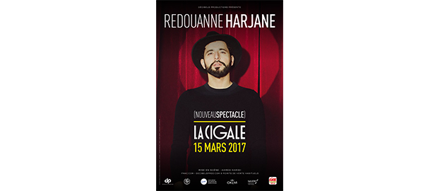 La Cigale - Paris - REDOUANNE HARJANE