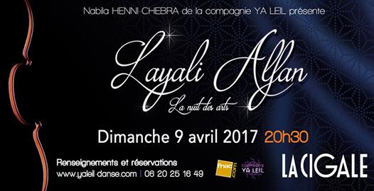 La Cigale - Paris - LAYALI ALFAN