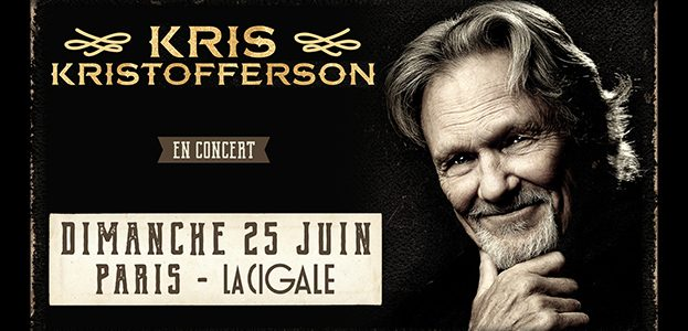 La Cigale - Paris - KRIS KRISTOFFERSON