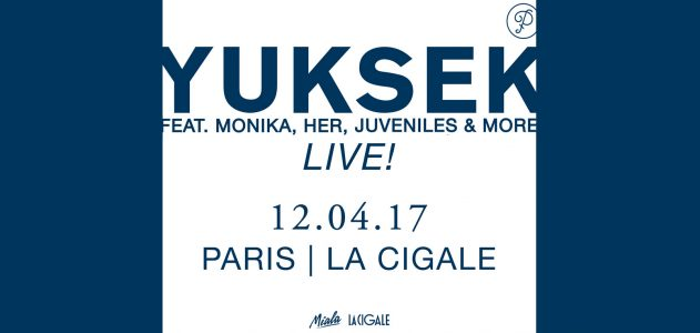 La Cigale - Paris - YUKSEK