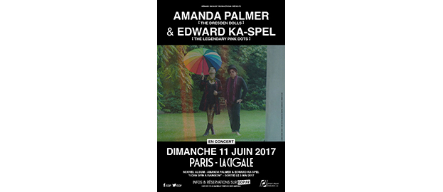 AMANDA PALMER & EDWARD KA-SPEL