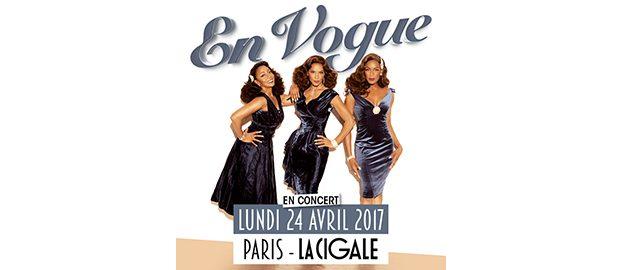La Cigale - Paris - EN VOGUE