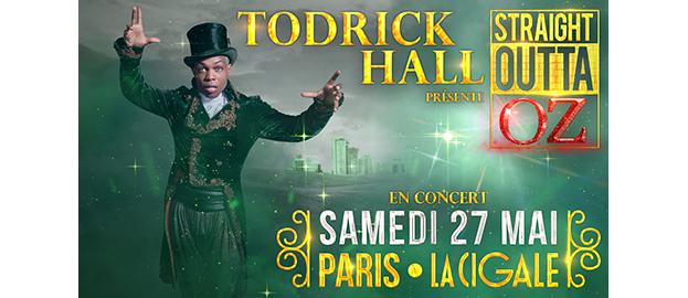 La Cigale - Paris - TODRICK HALL