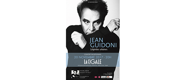 La Cigale - Paris - JEAN GUIDONI