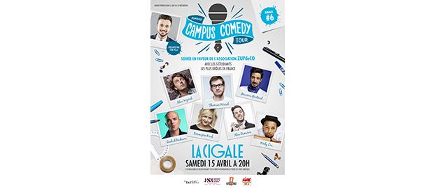La Cigale - Paris - CAMPUS COMEDY TOUR - 6ÈME EDITION