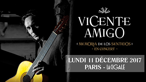 La Cigale - Paris - VICENTE AMIGO