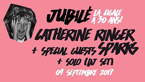 La Cigale - Paris - CATHERINE RINGER + Special guests SPARKS + SOLO (dj set)
