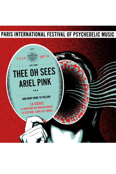 Paris Psych Fest 2018 / Thee Oh Sees