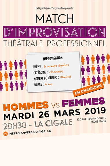 Match d'Improvisation Professionnel