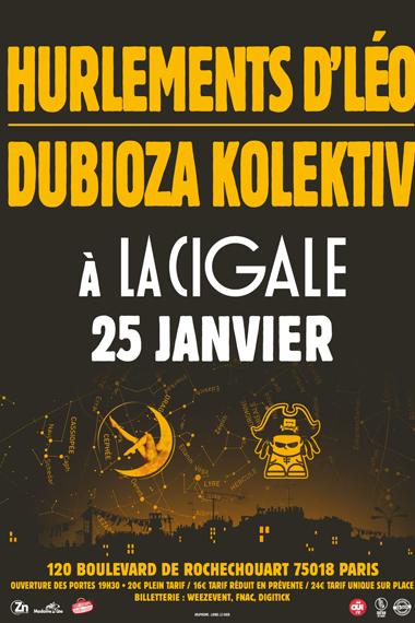 Les Hurlements d'Léo & Dubioza Kolektiv