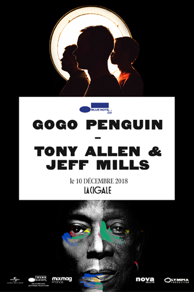 Gogo Penguin + Tony Allen & Jeff Mills