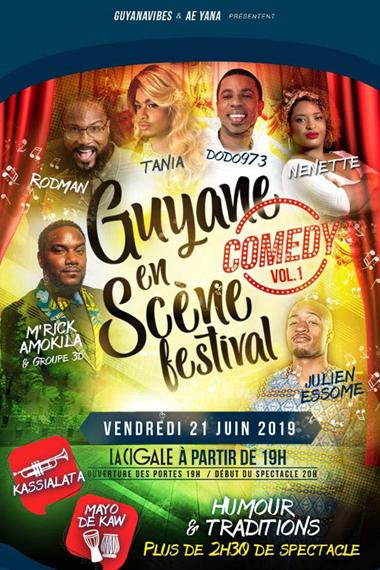 Guyane en scène