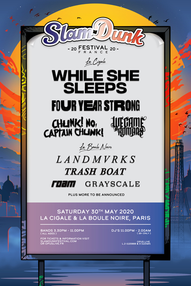 (Français) Slam Dunk Festival France
