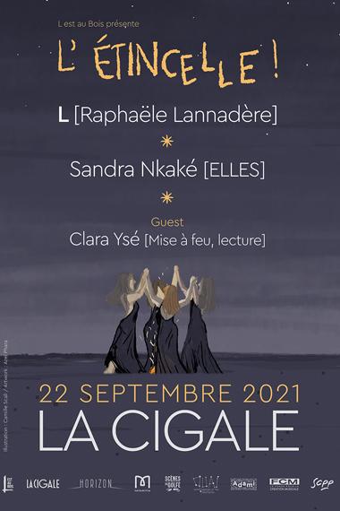 L – Raphaële Lannadère + Sandra Nkaké